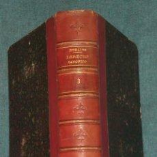 Libros antiguos: TRATADO DE DERECHO ECLESIÁSTICO GENERAL Y PARTICULAR DE ESPAÑA. (TOMO 3 DE LA OBRA .-LIBRO III.). Lote 20989234