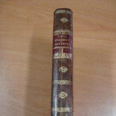 Libros antiguos: FEBRERO NOVÍSIMO Ó LIBRERÍA DE JUECES, ABOGADOS Y ESCRIBANOS. EUGENIO DE TAPIA. TOMO I. 1837. PIEL.. Lote 24157349