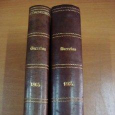 Libros antiguos: BOLETÍN DE LA REVISTA GENERAL DE LEGISLACIÓN Y JURISPRUDENCIA. 2 TOMOS. 1865. Lote 21312686