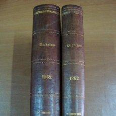 Libros antiguos: BOLETÍN DE LA REVISTA GENERAL DE LEGISLACIÓN Y JURISPRUDENCIA. 2 TOMOS. 1862. Lote 21312695