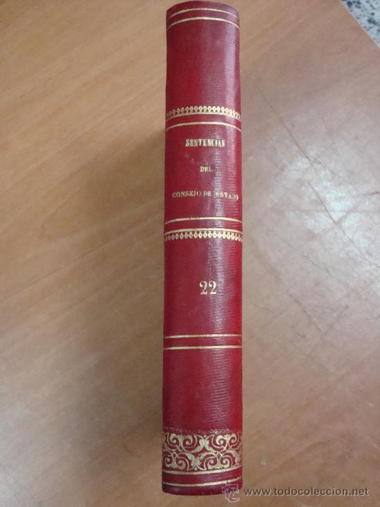 JURISPRUDENCIA ADMINISTRATIVA O COLECCIÓN COMPLETA DE DECISIONES Y SENTENCIAS...MADRID 1875. (Libros Antiguos, Raros y Curiosos - Ciencias, Manuales y Oficios - Derecho, Economía y Comercio)
