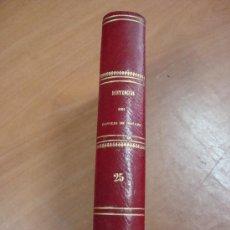 Libros antiguos: JURISPRUDENCIA ADMINISTRATIVA O COLECCIÓN COMPLETA DE DECISIONES Y SENTENCIAS...MADRID 1879. Lote 19037203