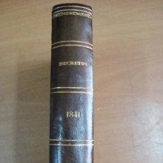 Libros antiguos: COLECCIÓN DE LAS LEYES, REALES DECRETOS, ÓRDENES, REGLAMENTOS,...TOMO 9º. Lote 19123197