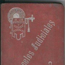 Libros antiguos - MANUAL CON LOS ARANCELES JUDICIALES. JOSE VILA SERRA. AÑO 1911. VALENCIA. - 20066391