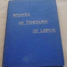 Libros antiguos: APUNTES DE TENEDURIA DE LIBROS POR PARTIDA DOBLE - R. CAVANNA - 1911.. Lote 21176151