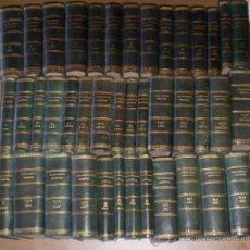 Libros antiguos: 41 TOMOS .. JURISPRUDENCIA CRIMINAL .. 1888 AL 1913. Lote 107930642