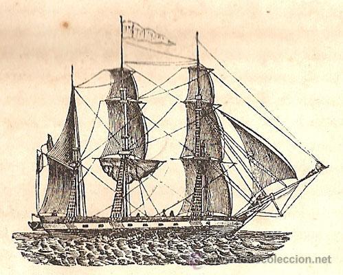 Libros antiguos: NOCIONES ELEMENTALES MATRÍCULAS DE MAR – Año 1851 - Foto 3 - 27016814