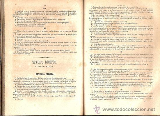 Libros antiguos: NOCIONES ELEMENTALES MATRÍCULAS DE MAR – Año 1851 - Foto 4 - 27016814