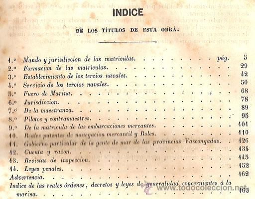 Libros antiguos: NOCIONES ELEMENTALES MATRÍCULAS DE MAR – Año 1851 - Foto 5 - 27016814