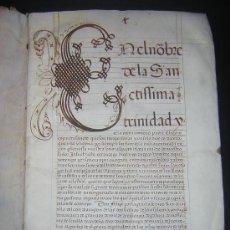 Libros antiguos: 1594 - MANUSCRITO EN PERGAMINO - FELIPE II, PRIVILEGIOS REALES, SEVILLA, COMERCIO INDIAS. Lote 27456962