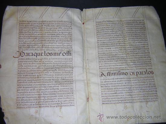 Libros antiguos: 1594 - MANUSCRITO EN PERGAMINO - FELIPE II, PRIVILEGIOS REALES, SEVILLA, COMERCIO INDIAS - Foto 6 - 27456962