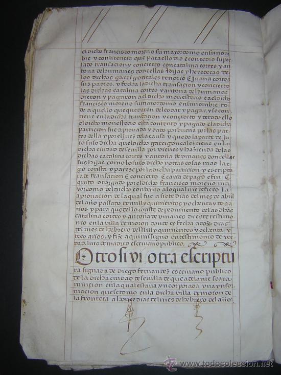 Libros antiguos: 1594 - MANUSCRITO EN PERGAMINO - FELIPE II, PRIVILEGIOS REALES, SEVILLA, COMERCIO INDIAS - Foto 7 - 27456962