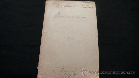PRESAS MARÍTIMAS (Libros Antiguos, Raros y Curiosos - Ciencias, Manuales y Oficios - Derecho, Economía y Comercio)