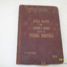 Libros antiguos: MANUAL PRÁCTICO DEL PATRONO Y OBRERO ANTE EL TRIBUNAL INDUSTRIAL.-CON DEDICATORIA Y FIRMA DEL AUTOR. Lote 24088215