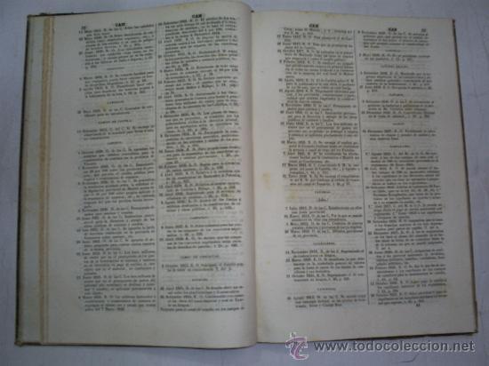 Libros antiguos: Estracto alfabético cuanto contienen los tomos de Decretos LEÓN CARBONERO Y SOL Boix 1841 RM52956-V - Foto 4 - 27991711