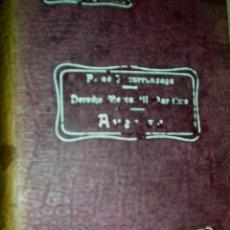 Libros antiguos: DERECHO MERCANTIL MARÍTIMO. AVERIAS.POR PEDRO UNZURRUNZAGA COLEC MANUALES REUS. ENVÍO PAGO. Lote 28423540