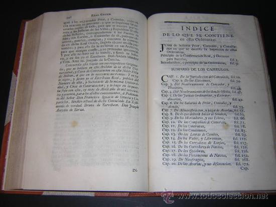 Libros antiguos: 1769 - ORDENANZAS DE LA ILUSTRE UNIVERSIDAD Y CASA DE CONTRATACION DE LA VILLA DE BILBAO - Foto 10 - 29599713