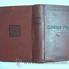Libros antiguos: CÓDIGO PENAL DE 18 DE JUNIO DE 1870. REVISTA DE LOS TRIBUNALES. BIBLIOTECA DE BOLSILLO. AÑO 1933. Lote 29599180