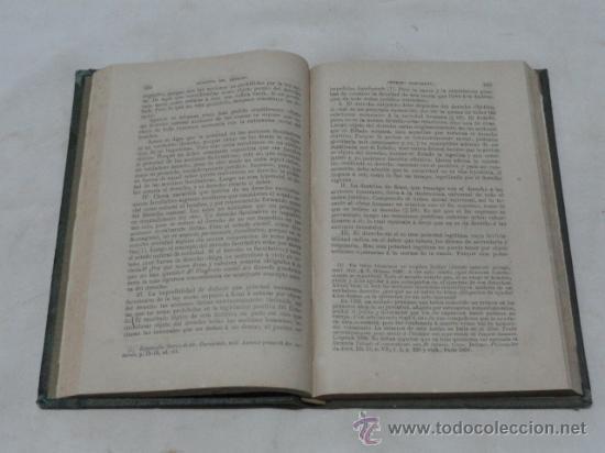 Libros antiguos: LIBRO - FILOSOFIA DEL DERECHO -. AÑO 1879. - Foto 3 - 38009701