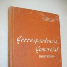 Libros antiguos: CORRESPONDENCIA COMERCIAL INGLÉS ESPAÑOL.J. MECA TUDELA.- MANUALES SOLER, LIII-S/F. Lote 30146379