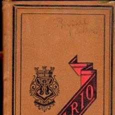 Libros antiguos: DIETARIO, AGENDA DE BUFETE, 1880, GUÍAS DE MADRID Y BARCELONA, CELESTINO VERDAGUER, 1879. Lote 128293087