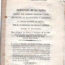 Libros antiguos: RESULTADO DE LA CAUSA POR EL EX-MINISTRO MARQUÉS DE MATA FLORIDA, MADRID, IMP., BORBADORES, 1820. Lote 31277276
