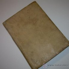 Libros antiguos: LIBRO DE PERGAMINO.......PRACTICA CRIMINAL DE ESPAÑA.T III...AÑO.. 1806. Lote 46144328