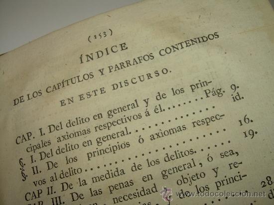 Libros antiguos: LIBRO DE PERGAMINO.......PRACTICA CRIMINAL DE ESPAÑA.T III...AÑO.. 1806 - Foto 7 - 46144328