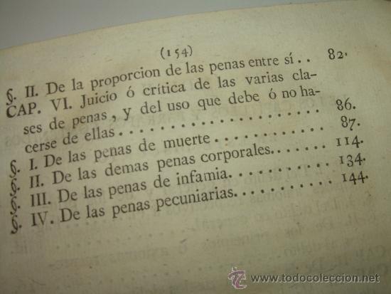 Libros antiguos: LIBRO DE PERGAMINO.......PRACTICA CRIMINAL DE ESPAÑA.T III...AÑO.. 1806 - Foto 9 - 46144328