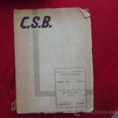 Libros antiguos: RARA REVISTA DE DE BANCA Y FINANZAS CSB, MARZO 1936, Nº 3. L 614. Lote 31753687