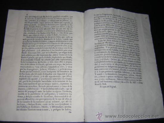 Libros antiguos: 1762 - ADICION A LA ORDENANZA PARA LA MEJOR CASTA DE LA CABALLERIA DEL REINO - CARLOS III, CABALLOS - Foto 3 - 31773397