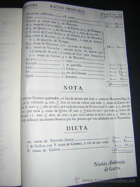 Libros antiguos: 1776 - PLIEGO DE CONDICIONES PARA LA PROVISION DE VIVERES DE LA REAL ARMADA - CARLOS III, NAVAL - Foto 4 - 31769493