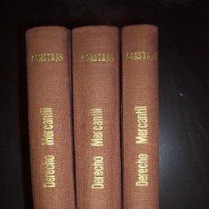 Libros antiguos: ESTUDIOS ELEMENTALES DE DERECHO MERCANTIL. 3 VOLS. 1936-1950. FCO. BLANCO CONSTANS. Lote 31776902