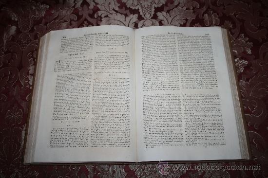 Libros antiguos: 0406-LAS SIETE PARTIDAS DEL MUY NOBLE REY D. ALFONSO EL SABIO POR GREGORIO LOPEZ - T. 3 Y 4 - 1844 - Foto 6 - 32303833