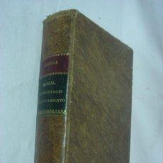 Libros antiguos: MANUAL DEL SECRETARIO DE AYUNTAMIENTO. ABELLA. 1903. Lote 33256484