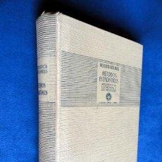 Libros antiguos: METODOS ESTADISTISCOS APLICADOS A LA ECONOMIA Y LOS NEGOCIOS, POR CECIL MILLS, 1935.. Lote 33762170