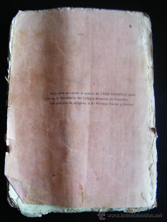 Libros antiguos: ESTUDIOS DE DERECHO CIVIL, ANTONIO BELTRÁN MORENTE, GRANADA 1903. - Foto 6 - 34453358