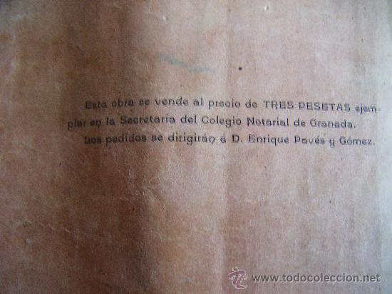 Libros antiguos: ESTUDIOS DE DERECHO CIVIL, ANTONIO BELTRÁN MORENTE, GRANADA 1903. - Foto 7 - 34453358