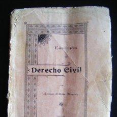 Libros antiguos: ESTUDIOS DE DERECHO CIVIL, ANTONIO BELTRÁN MORENTE, GRANADA 1903. . Lote 34453358