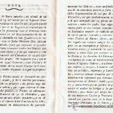 Libri antichi: REPRESENTACIÓN DE DON JOSEF FERNANDEZ DE CASTRO, VECINO DE BUENOS AIRES,SEGUNDO COMANDANTE DEL BATAL. Lote 34919741