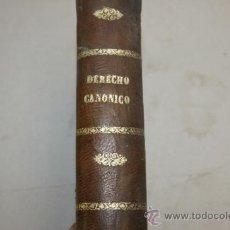 Libros antiguos: LIBRO INSTITUCIONES DE DERECHO CANONICO. 1893. TOMO I. Lote 35482339