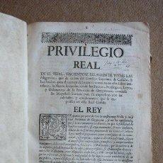 Libros antiguos: NUEVA RECOPILACIÓN DE LOS FUEROS, PRIVILEGIOS, BUENOS USOS Y COSTUMBRES, LEYES Y ORDENES DE LA .... Lote 35424485