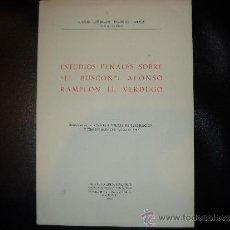 Libros antiguos: ESTUDIOS PENALES SOBRE EL BUSCON