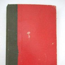 Libros antiguos: LEY Y REGLAMENTO DEL IMPUESTO DE ALCOHOLES - 1933 - ENCUADERNADO CON TAPAS DURAS - 645 PAGINAS. Lote 36714768
