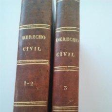 Libros antiguos: LECCIONES ELEMENTALES DE DERECHO CIVIL. Lote 36816331