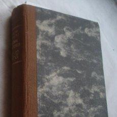 Libros antiguos: ANALES DEL INSTITUTO NACIONAL DE PREVISIÓN TOMOS XVIII Y XIX AÑOS 1926 Y 1927. Lote 37257448