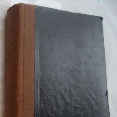 Libros antiguos: ANALES DEL INSTITUTO NACIONAL DE PREVISIÓN TOMOS XII Y XIII AÑOS 1920 Y 1921. Lote 37257634