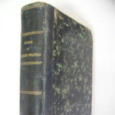 Libros antiguos: CURSO DE HISTORIA DEL DERECHO POLITICO,VICENTE SANTAMARIA,1883,RICARDO FE ED,REF VRE2. Lote 37526124