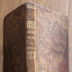 Libros antiguos: CÓDIGO PENAL DE ESPAÑA MARCELO MARTÍNEZ ALCUBILLA 3ª EDICIÓN MICROSCÓPICA AÑO 1860 SIGLO XIX. Lote 43757507