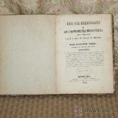 Libros antiguos: 3365- GUIA DEL COMERCIANTE O LOS 500 PROBLEMAS MERCANTILES. AGUSTIN GAZE. IMP. FRAN. GRANELL 1856.. Lote 37582885